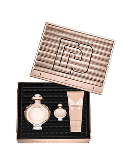 OLYMPEA Coffret (EdP 50ml + Body Lotion 75ml + Miniature 6ml)