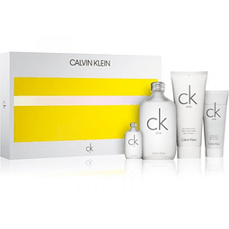CK ONE Coffret (EdT 200ml + Body Lotion 200ml + EdT 15ml + Hair & Body Wash 50ml)