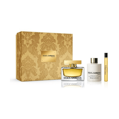 COFFRET The One (EdP 75ml + EdP 10ml + Body Lotion 100ml)