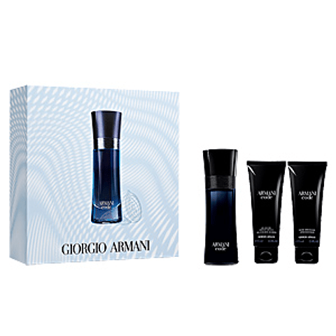 CODE Cofret (EdP 75 ml + shower gel 75 ml +after shave balm 75 ml)
