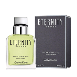 ETERNITY FOR MEN as 100 ml
