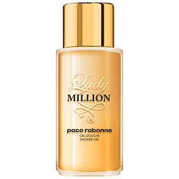 LADY MILLION shower gel 200 ml