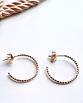 GOLD HOOPS  S
