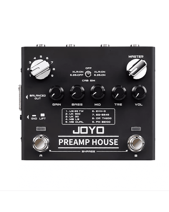 Preamp House