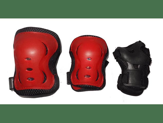 Set de Proteccion Rojo