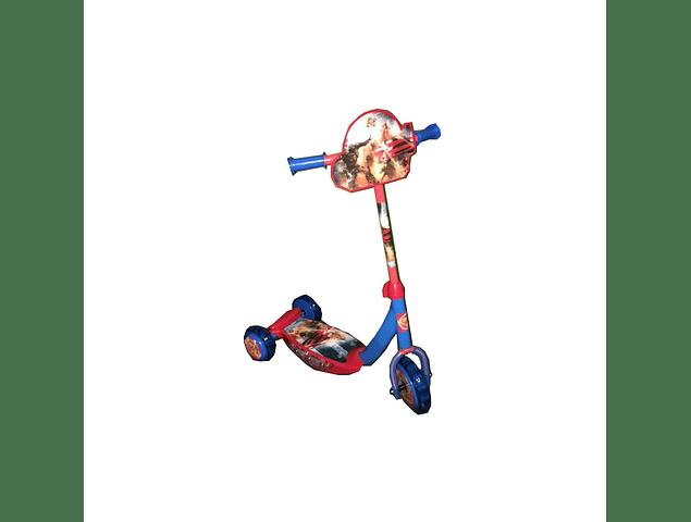 Monopatin Tri-Scooter Musical para Niños