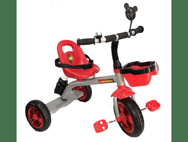 Triciclo con pisadera para Niñas y Niños