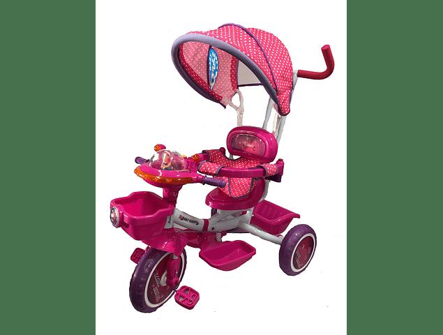 Triciclo con Guiador Musical