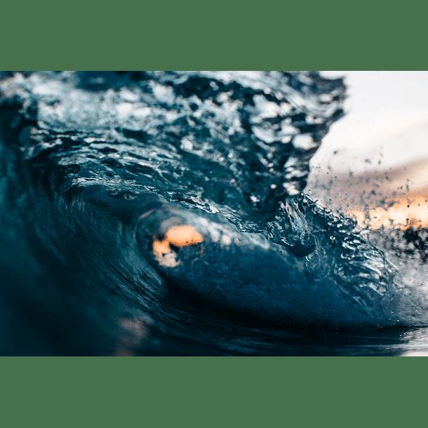 Luz a través de ondas