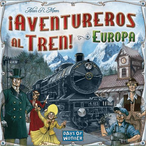 ¡Aventureros al Tren!: Europa