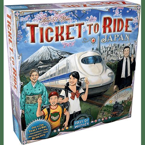 Aventureros al tren: Expansión Japón e Italia