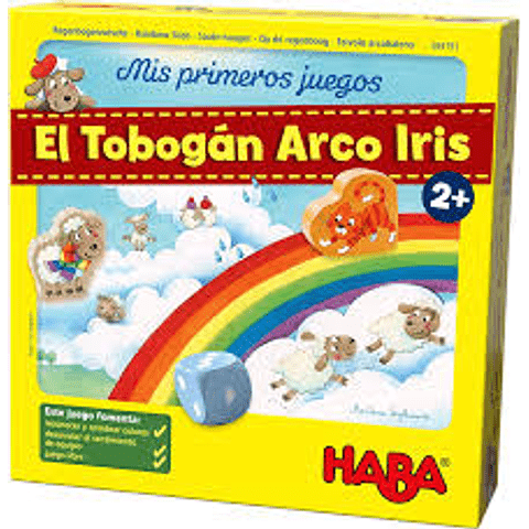 Mis primeros juegos: El Tobogán Arcoíris