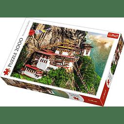 Nido del Tigre, Bután - 2000 piezas