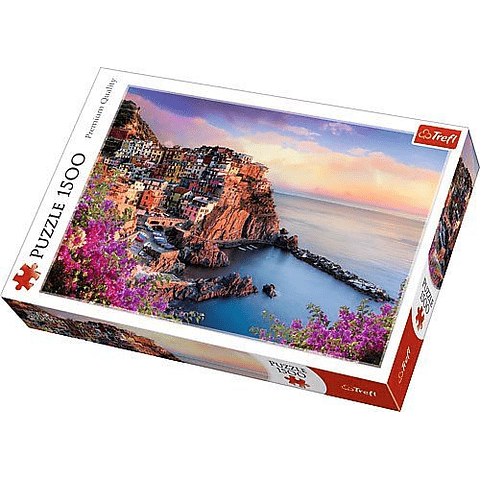 Vista de Manarola, Italia - 1500 piezas