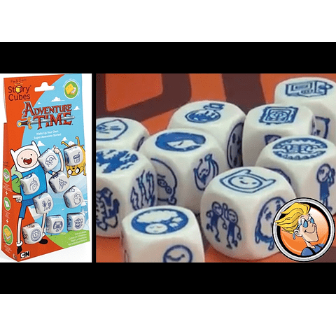 Story Cubes: Hora de Aventuras