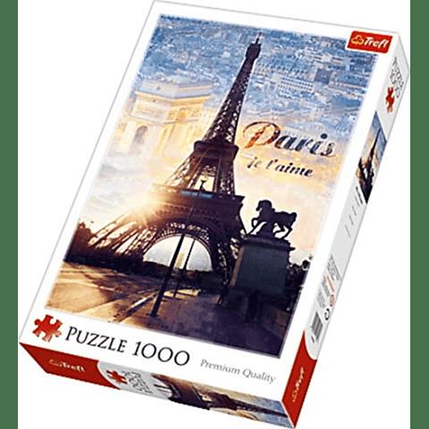 Amanecer en París - 1000