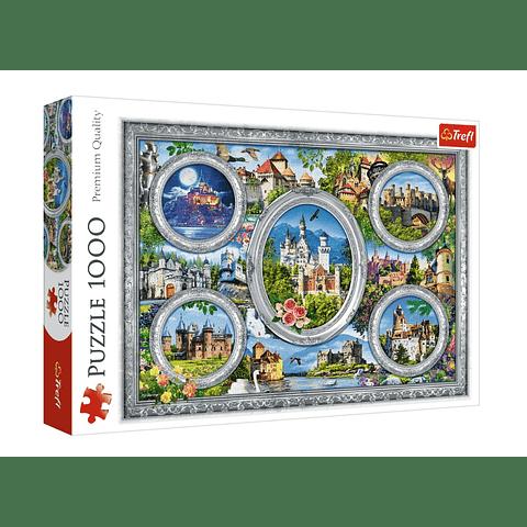 Castillos del mundo - 1000 piezas