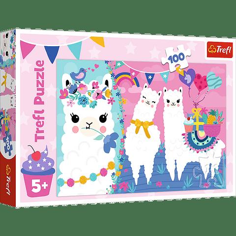 Llamas tiernas - 100 piezas
