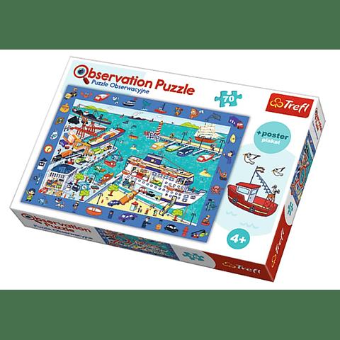 El puerto, Puzzle de observación - 70 piezas