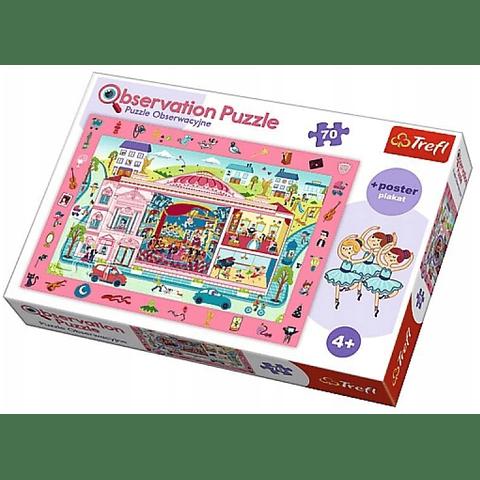 La Ópera, Puzzle de observación - 70 piezas