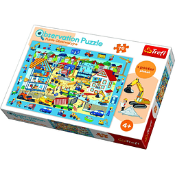 Obra en Construcción, Puzzle de Observación - 70 piezas