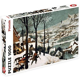 Cazadores en la Nieve - 1000 piezas