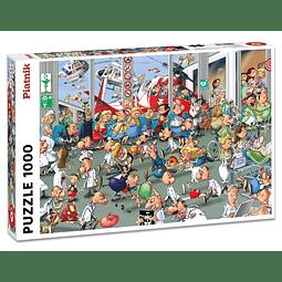 Accidentes y Emergencias - 1000 piezas