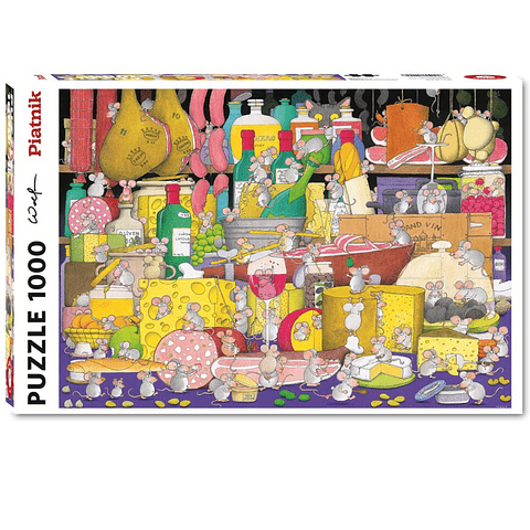 Festín Supervisado - 1000 piezas