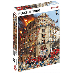 Brigada de Bomberos - 1000 piezas