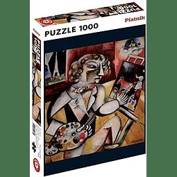 Autorretrato con siete dedos - 1000 piezas