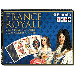 Realeza francesa - Naipe Inglés