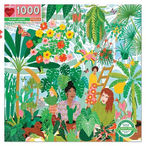 Señoritas en el Jadrín - 1000 piezas
