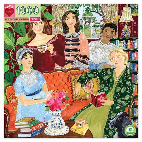 El Club de Lectura de Jane Austen - 1000 piezas