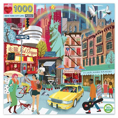 Vida de Nueva York - 1000 piezas