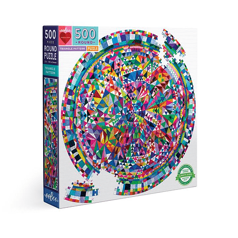 Patrón Triangular - 500 piezas