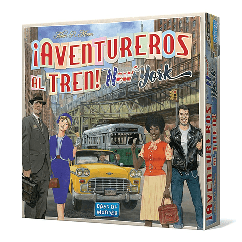 Aventureros al Tren: New York
