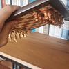 Ajedrez de madera magnético 25x25