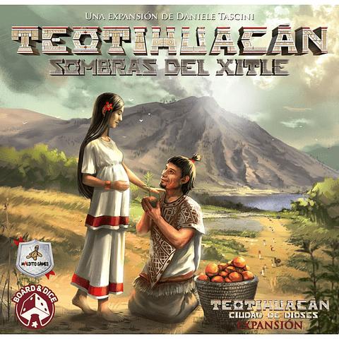 Teotihuacán: Sombras del Xitle + Pack de promos - Abono Preventa