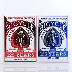Naipe Inglés Bicycle - 125 Aniversario