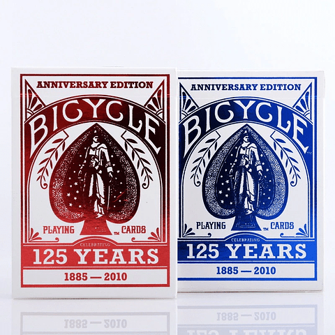 Naipe Inglés Bicycle - 125 Aniversario