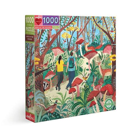 Trekking en el Bosque - 1000 piezas