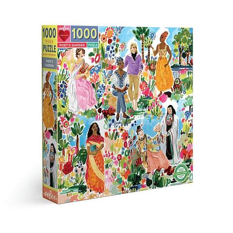 Jardín de Poetas - 1000 piezas