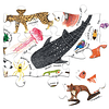 Mundo Maravilloso de Animales - 100 piezas