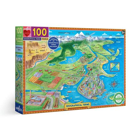 Términos Geográficos - 100 piezas