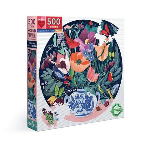 Vida con Flores - 500 piezas