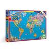 Mapas del Mundo - 100 piezas