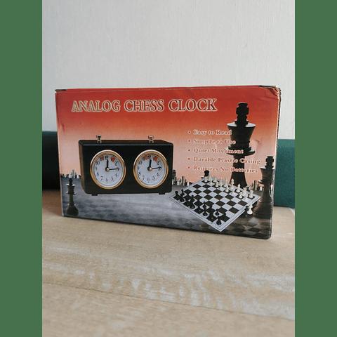 Reloj mecánico para ajedrez
