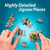 Gran Salón de Hogwarts - Puzzle 3d
