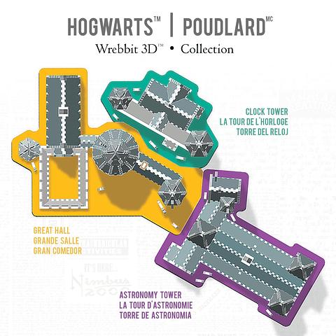 Torre de Astronomía de Hogwarts - Puzzle 3d