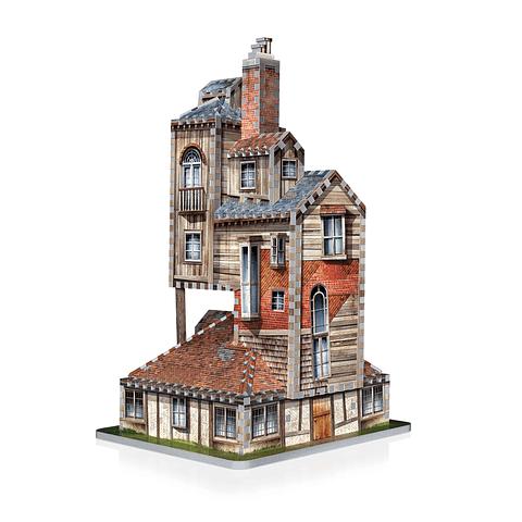 La Casa de los Weasley - Puzzle 3d